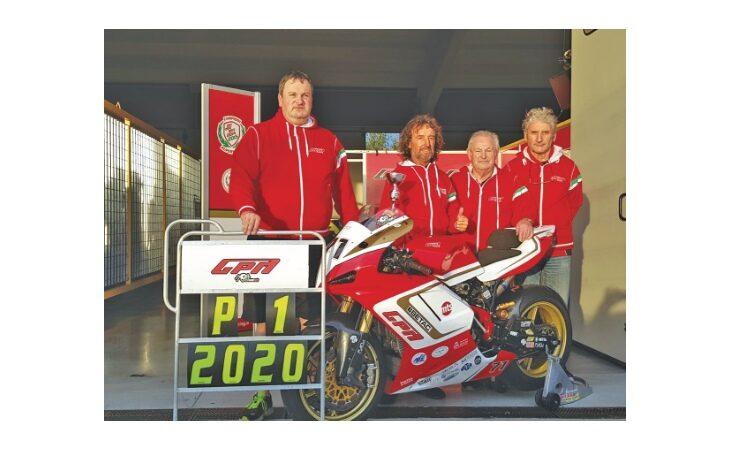 Motociclismo, un altro titolo per Valter Bartolini. E' la terza volta nella classe 1000 Open del «Mes»