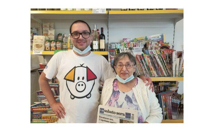 «Un salto in edicola» e l'attività di Anna Visani e Lorenzo Malavolti: «All'Informa Pontesanto giornali ma…niente pane»