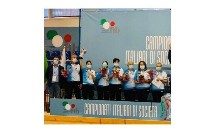 Le ragazze di Osteria Grande campionesse d'Italia di bocce