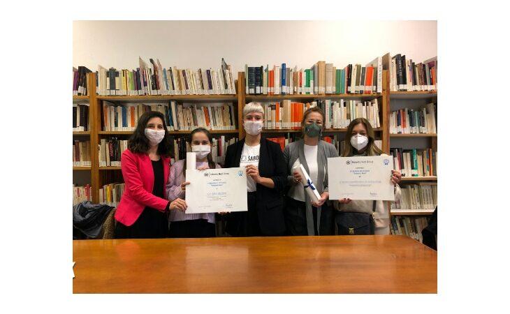 Premiati i vincitori della Borsa di studio «Roberto Nuti» e presentato il tema per la seconda edizione