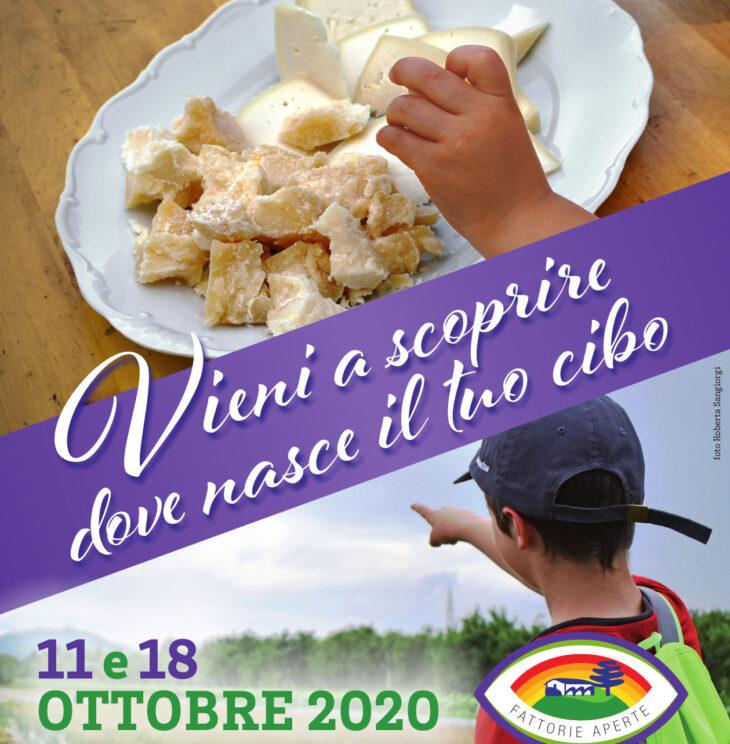 Fattorie aperte l'11 e 18 ottobre 2020