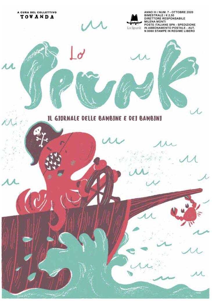 Lo Spunk di ottobre parla come i pirati