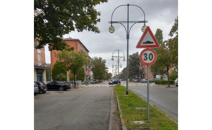 Ad Ozzano viale 2 Giugno diventa a misura di bici e pedoni