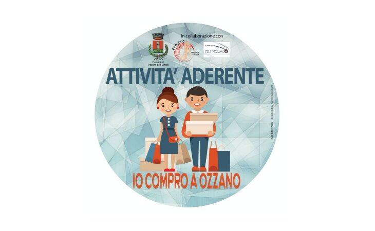 Il Comune «premia» i cittadini che comprano nei negozi di Ozzano