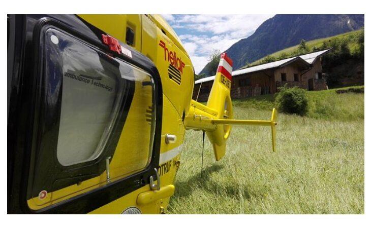 Cade durante un'escursione sulle colline, 33enne castellano recuperato dall'elicottero del soccorso alpino
