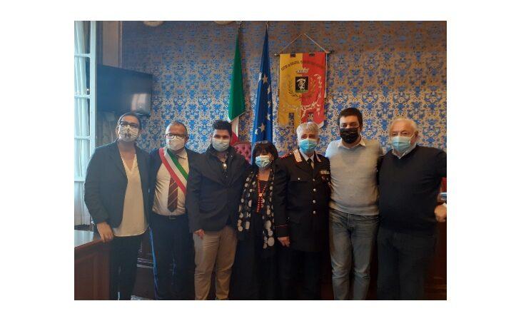 Benemerenza per il carabiniere Antonio Rossi, storico comandante della stazione di Castel San Pietro