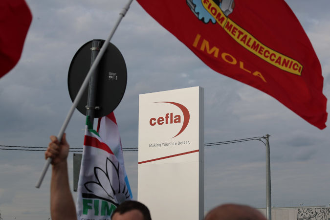Cefla, raggiunto l'accordo con i sindacati, massima tutela occupazionale fino al 30 giugno 2022