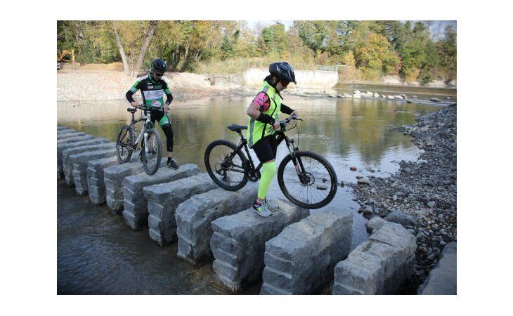 A piedi o in bici lungo la ciclopista del Santerno, il punto sui lavori