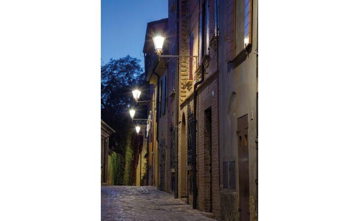 A Castello nuove lampade a led tra capoluogo e Osteria Grande