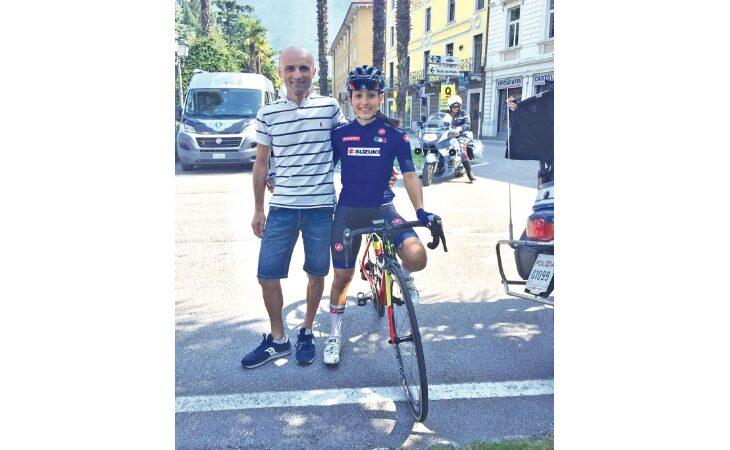 Ciclismo, il salto tra le grandi dell'imolese Alessia Patuelli
