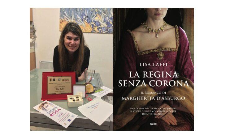 La scrittrice Lisa Laffi e il suo ultimo romanzo «La regina senza corona»