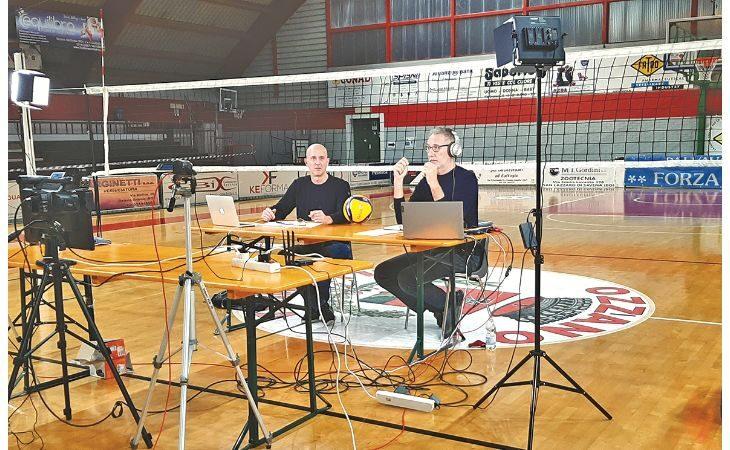 Volley, gli ex campioni Zorzi e Brogioni in diretta da Ozzano insieme al sindaco Lelli