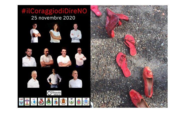 Violenza sulle donne, la campagna social #ilCoraggioDiDireNo e tanti appuntamenti on line in tutto il circondario