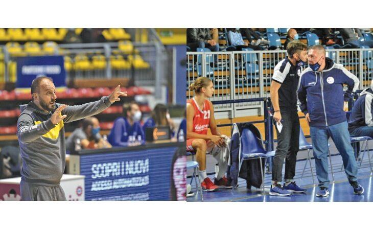 Basket, quest'anno l'A2 parla castellano con i coach Cavina e Salieri