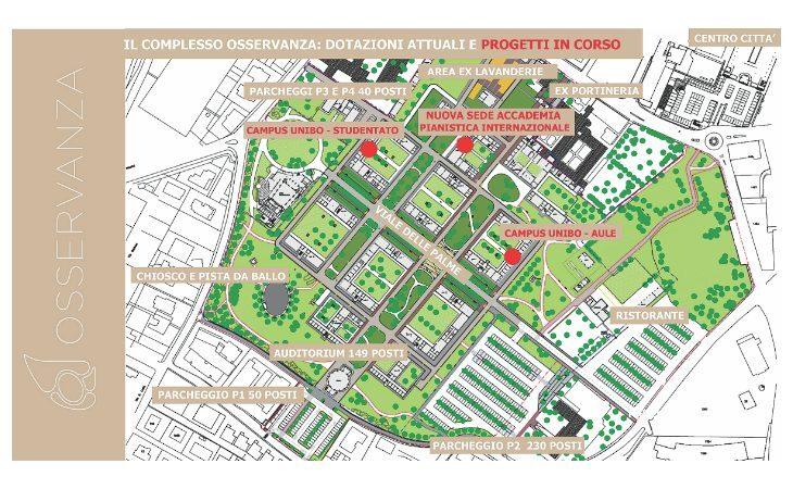 Campus all'Osservanza, l'Università di Bologna cerca più spazi
