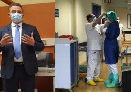 """Coronavirus, 143 nuovi positivi e 10 decessi nelle cra per Imola. Sanitari positivi, l'Ausl riduce le attività. Donini: """"Ancora tanti ricoveri, ma presto ritorneremo zona gialla'"""