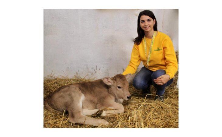 La giovane Angelica Monti studia il futuro dell'agricoltura mondiale