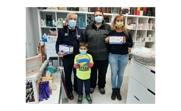 Coronavirus, la Pallavolo Ozzano regala mascherine ai bimbi delle scuole