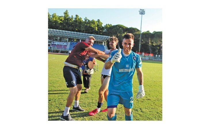 Calcio serie C, l'Imolese vista dal portiere Gianmaria Rossi: «C'è qualità, ne usciremo»