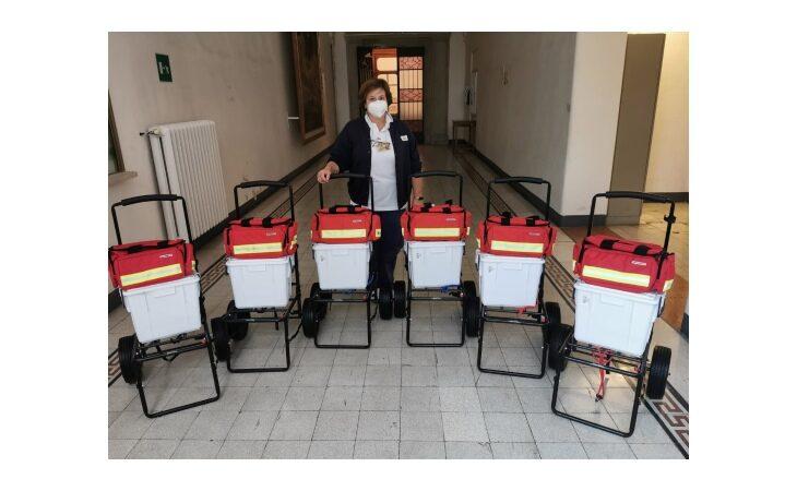 L'infermiera Angela Gurioli dona 6 kit base per le colleghe della Casa della Salute della Vallata