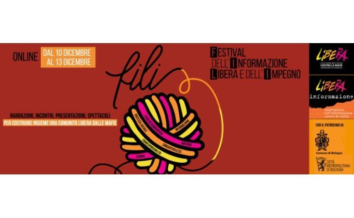 Al via la quinta edizione online di F.I.L.I., il festival di Libera su mafie e corruzione in tempo di crisi