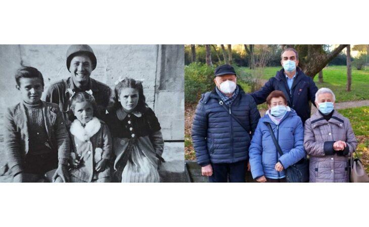 Miracolo di Natale, il soldato americano Adler ha «riabbracciato» i bambini del 1944