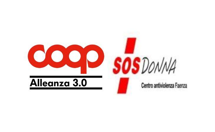 Coop Alleanza 3.0 sostiene Sos Donna,  una donazione a sostegno di chi subisce violenza