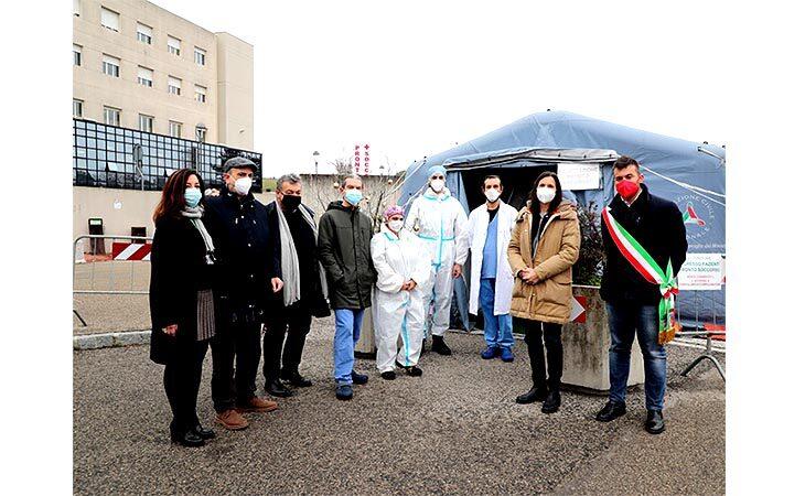 Ospedale di Imola: gli auguri di Natale della vicepresidente della Regione Schlein e il sindaco