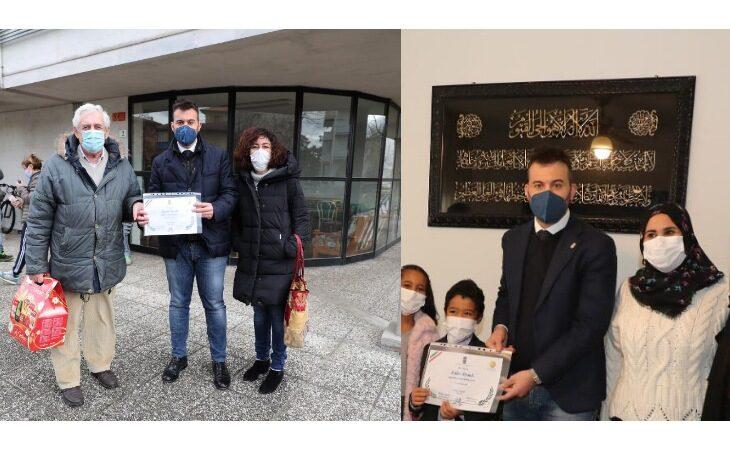A Luciano e Malika il riconoscimento di «Inquilino responsabile Acer»