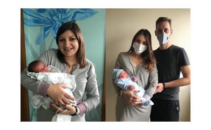 Fiocchi azzurri all'ospedale di Imola, sono due maschietti l'ultimo nato del 2020 e il primo del nuovo anno