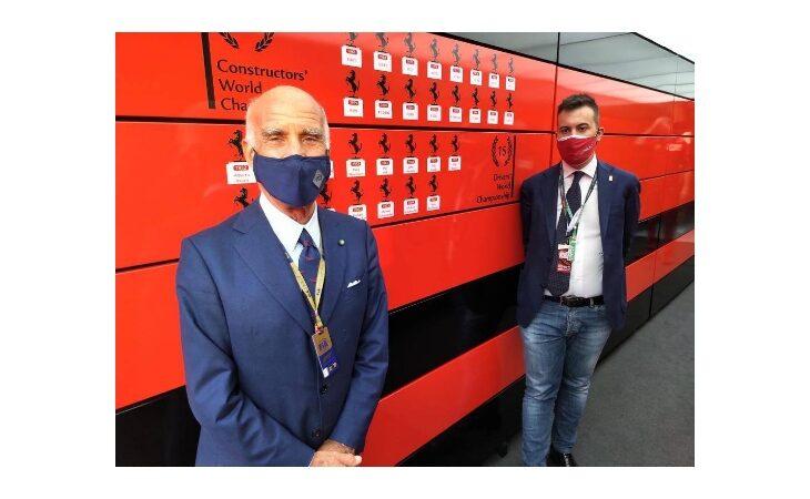 F.1 2021 a Imola, la soddisfazione del sindaco Marco Panieri