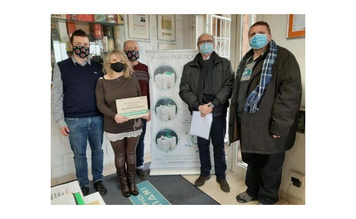 La Regione Emilia-Romagna premia l'azienda ozzanese Arti Grafiche Reggiani per il primo packaging plastic free