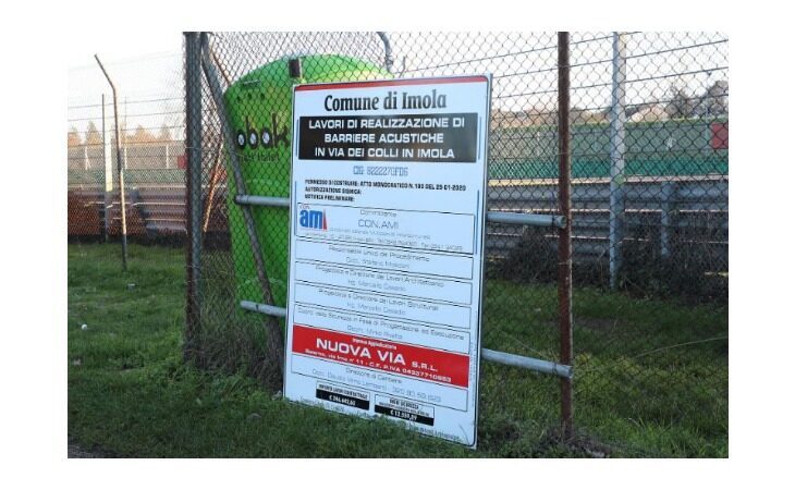 Entro gennaio partiranno i lavori per la costruzione della barriera antirumore di via dei Colli