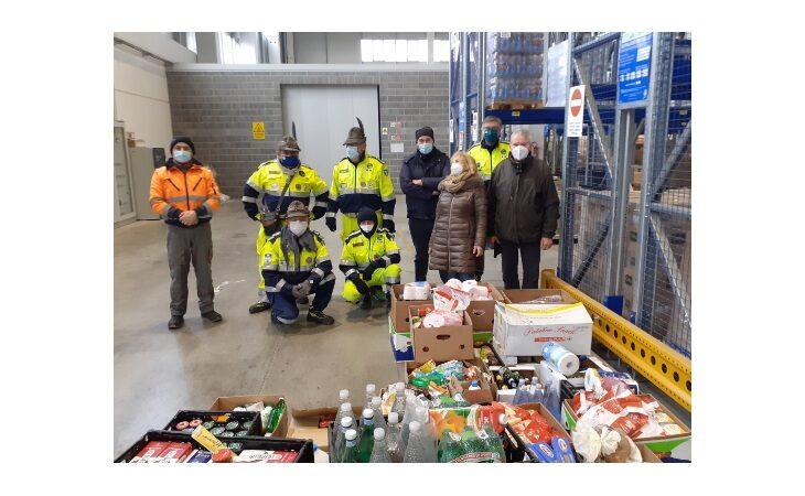 Aster Coop e Despar donano ad Auser e Caritas di Castello oltre 40mila confezioni di prodotti alimentari