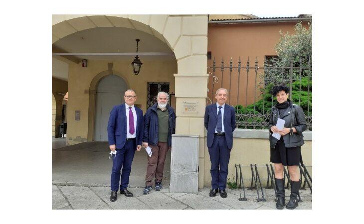 A Castello va avanti la riqualificazione del Cassero e dell'ex Pretura