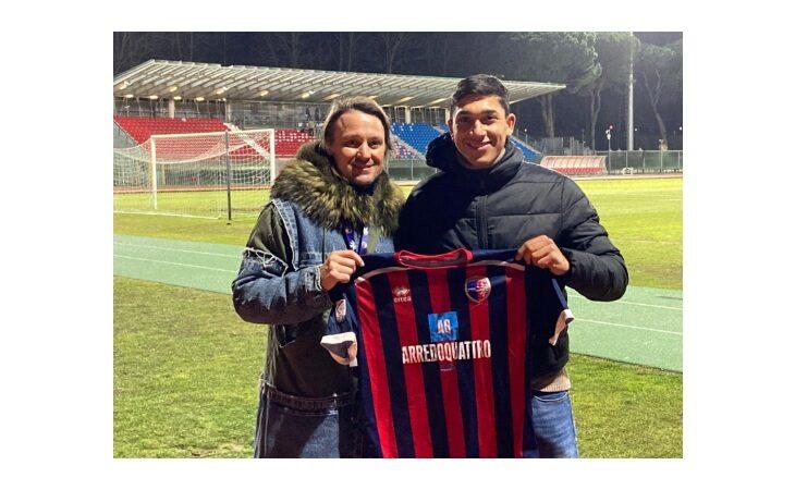 Calcio serie C, l'Imolese rinforza l'attacco con il castellano Christian Tommasini