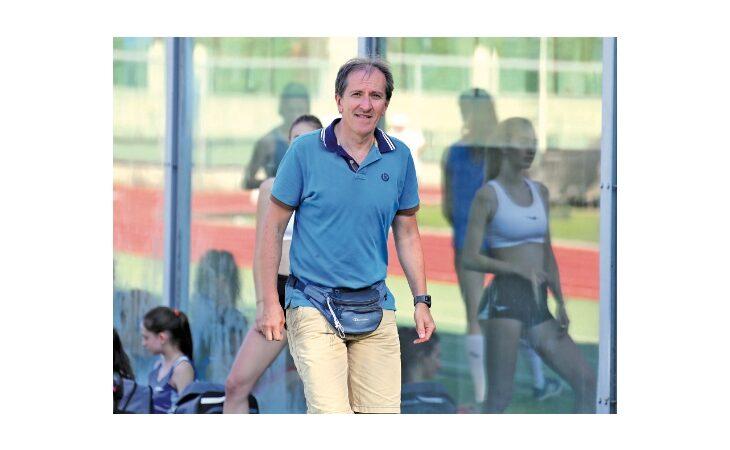 Atletica, il presidente della Sacmi Avis Massimo Cavini corre per la Fidal