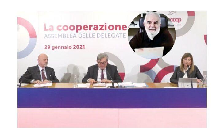 Cooperazione, l'intervento del presidente di Legacoop Imola Raffaele Mazzanti all'Assemblea di Legacoop Emilia Romagna
