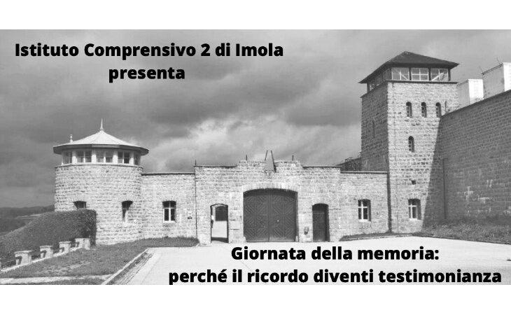 Istituto Comprensivo 2 di Imola e Cidra insieme nel progetto per la Giornata della Memoria. IL VIDEO