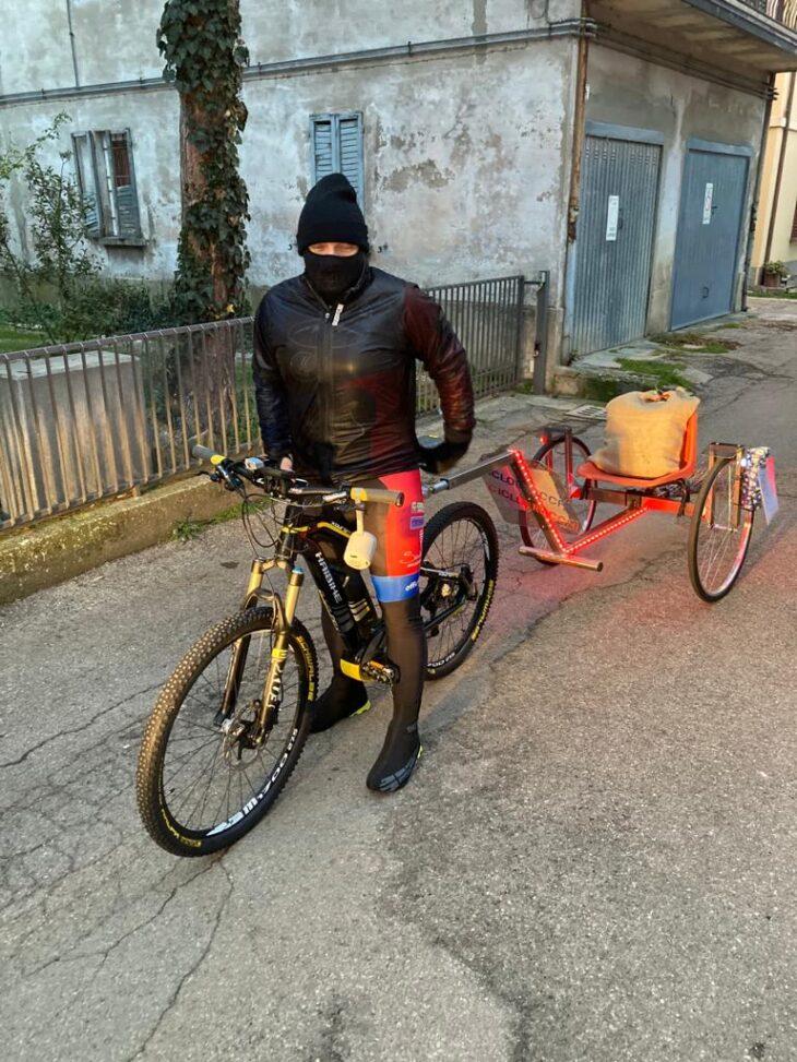 A Sesto Imolese la Ciclobefana è arrivata pedalando