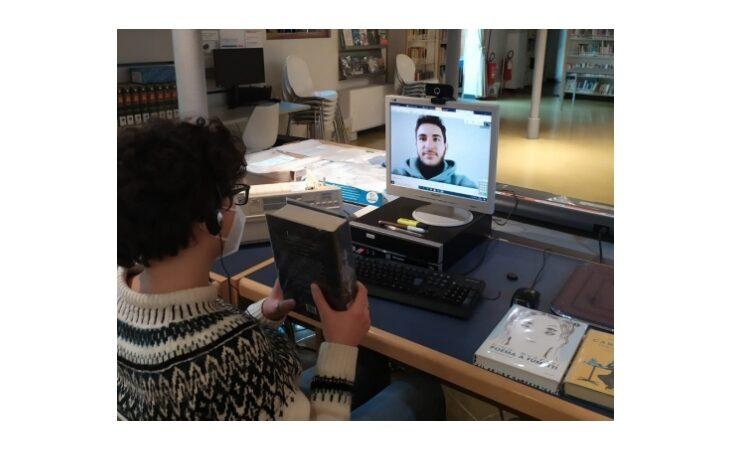 Videochiamata con la biblioteca a Castel San Pietro