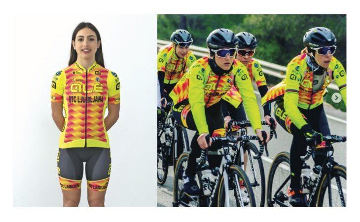 """Ciclismo, la """"spagnola"""" Alessia Patuelli: «La piccoletta impara»"""