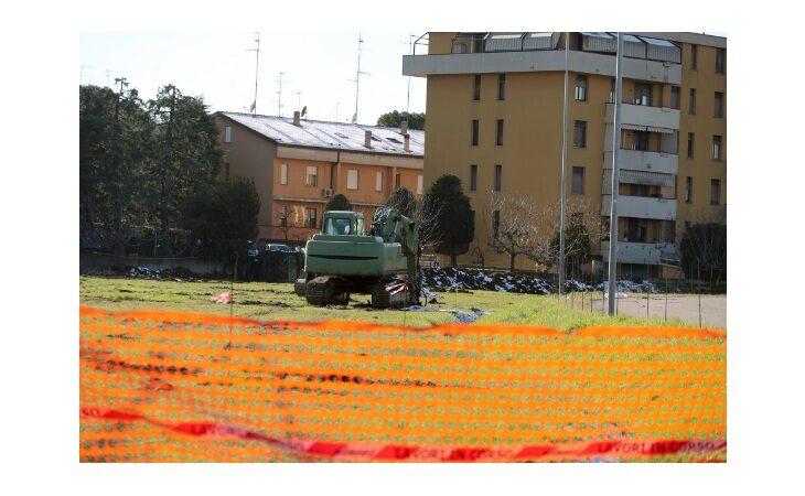 Bretella, in corso lavori di bonifica in via Salvo d'Acquisto a Imola