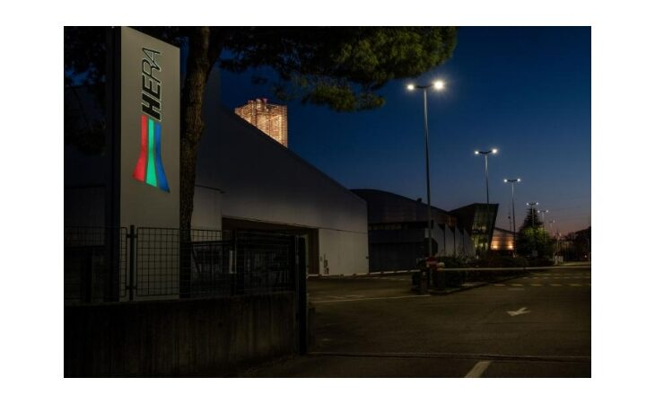 Hera, nelle sedi imolesi risparmio energetico con la nuova illuminazione esterna