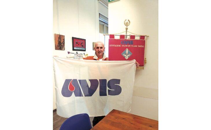 Avis, ultima donazione per il «veterano» del sangue Divo Drei