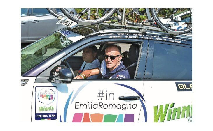 Ciclismo, partita la stagione per Coppolillo e il suo #inEmiliaRomagna Team