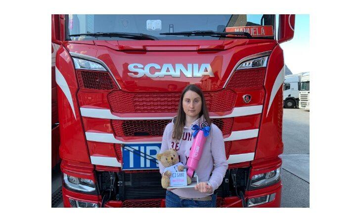 Sabo Rosa, Manuela Brunner eletta camionista dell'anno 2021