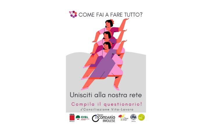 Conciliare vita e lavoro, questionario dell'associazione PerLeDonne di Imola rivolto alle lavoratrici del circondario