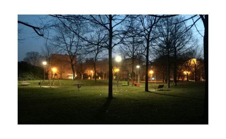 A Castello nuovo look per il giardino di via Volturno ed il parco di via Scania