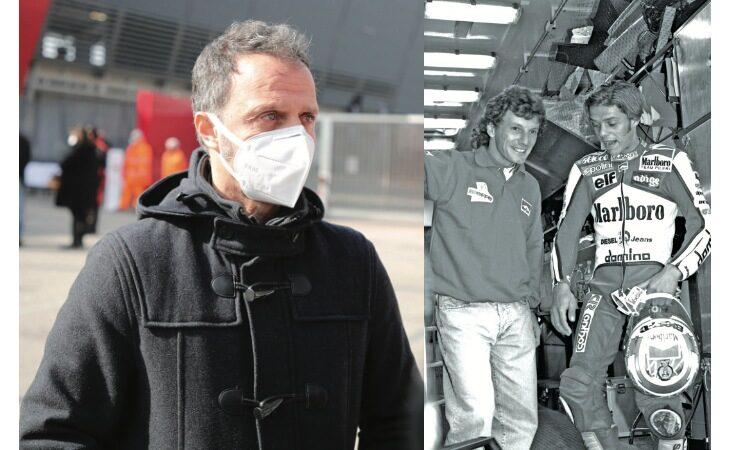 Loris Capirossi ricorda l'amico Gresini tra autodromo e F.1